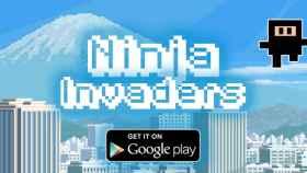 Salva al mundo de la invasión en Ninja Invaders