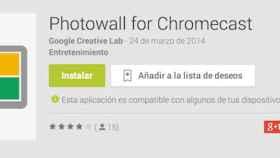 Photowall para Chromecast ya disponible en Play Store