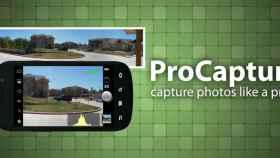 Mejora la cámara de tu Android con ProCapture