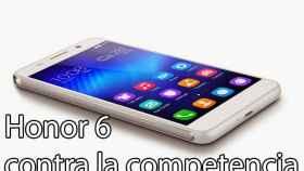 Comparativa: Honor 6 contra su competencia en Android