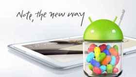 Galaxy Note 10.1 empieza a recibir Jelly Bean