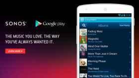 Sonos para Android ya es compatible y se integra con Google Play Music