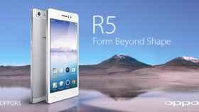 Oppo R5, el smartphone Android más delgado del mercado: 4.85mm