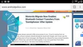 ChromePie, acciones rápidas en el navegador mediante gestos con Xposed