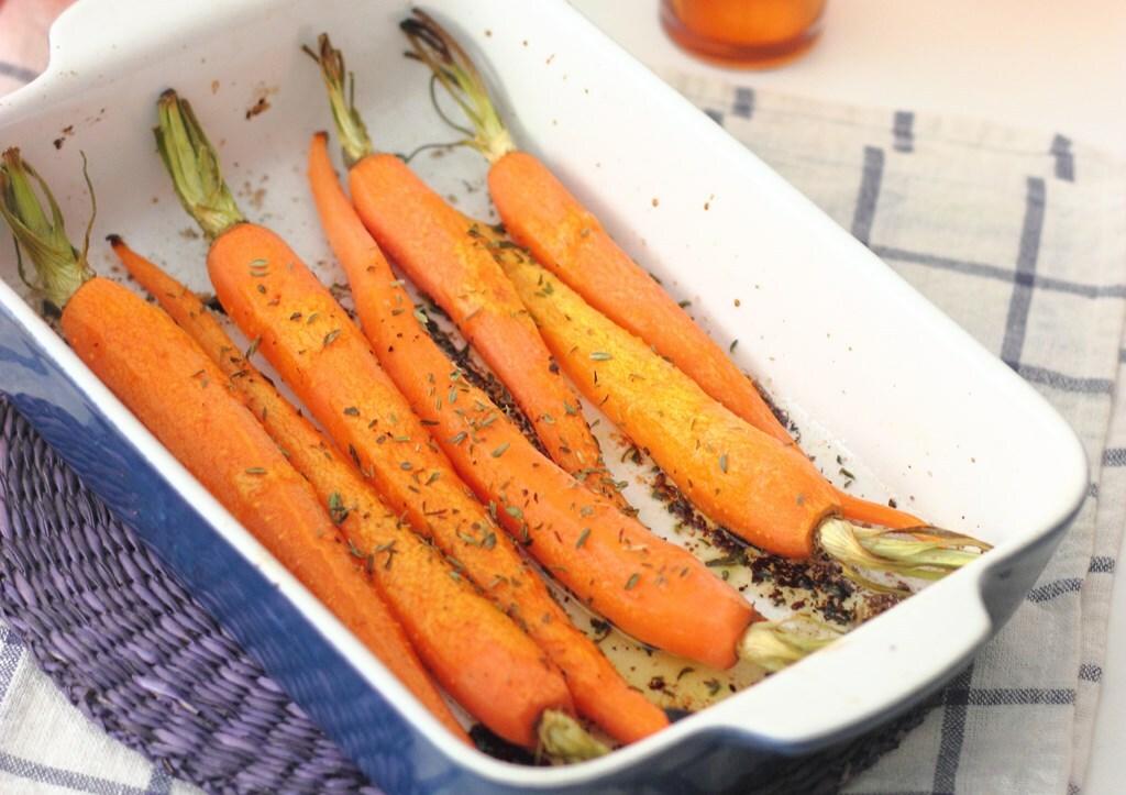 Zanahorias asadas al horno