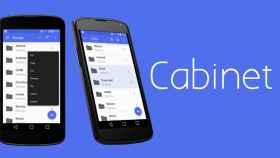 Cabinet, un explorador de archivos minimalista y con interfaz Material Design