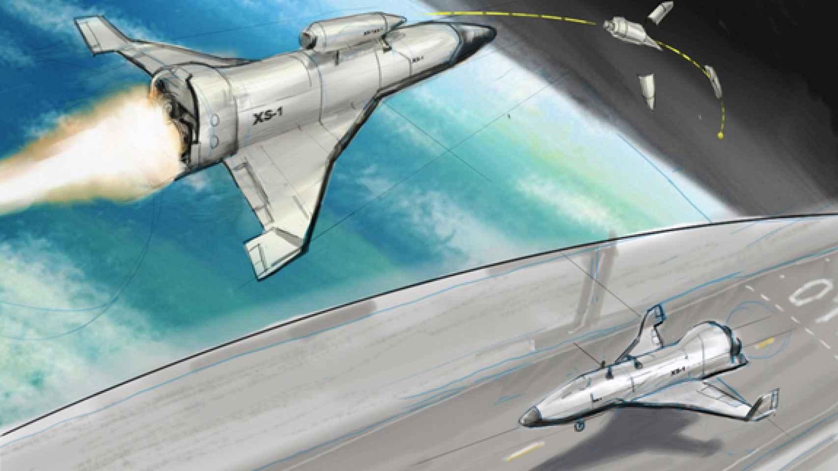 darpa-space-plane-xs1