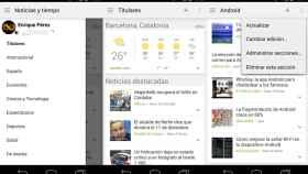 Google Noticias y Tiempo se rediseña totalmente [APK]