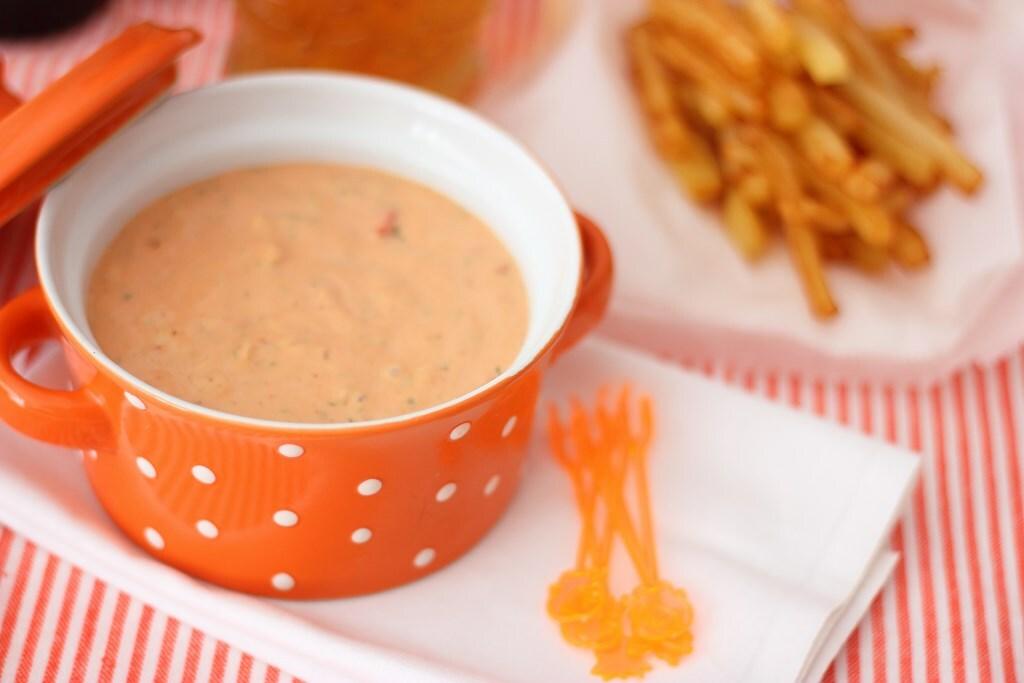 Salsa andaluza o salsa andalouse