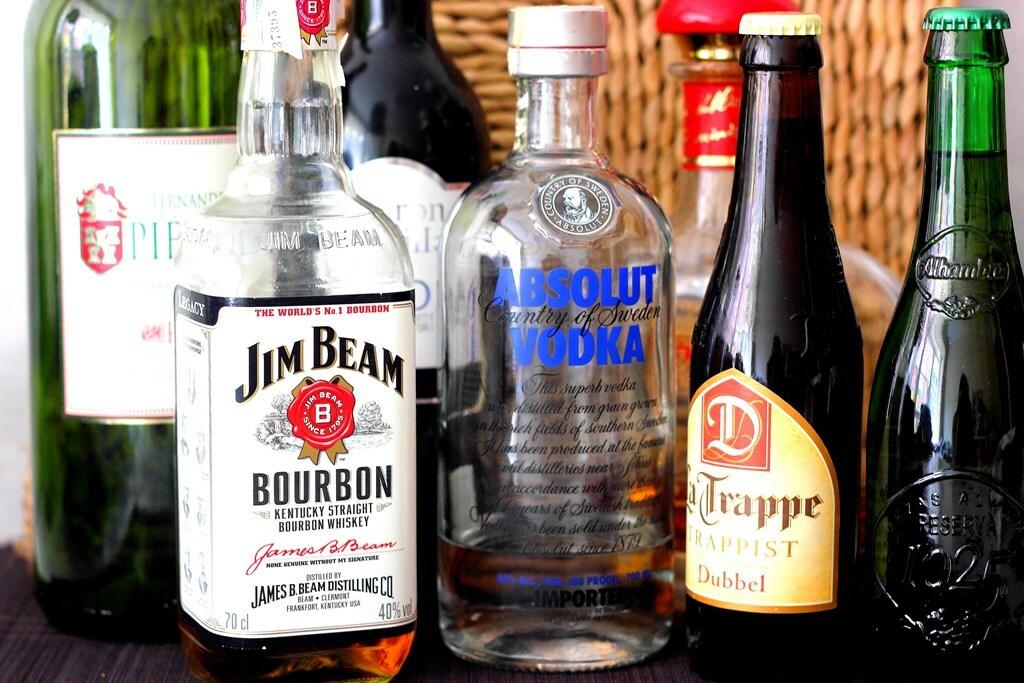 Cómo sustituir las bebidas alcohólicas en recetas de cocina
