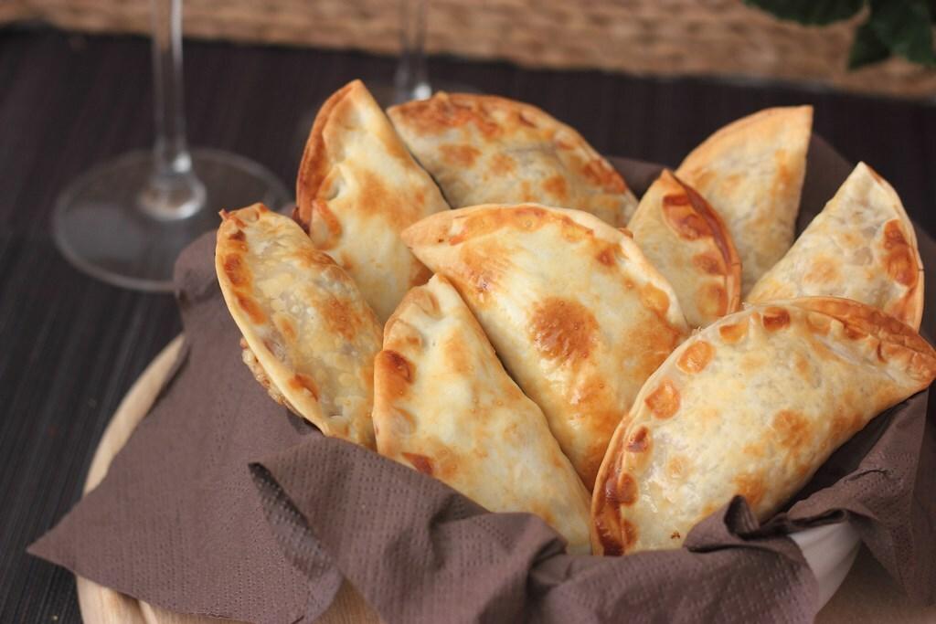 Empanadillas de pulpo al horno