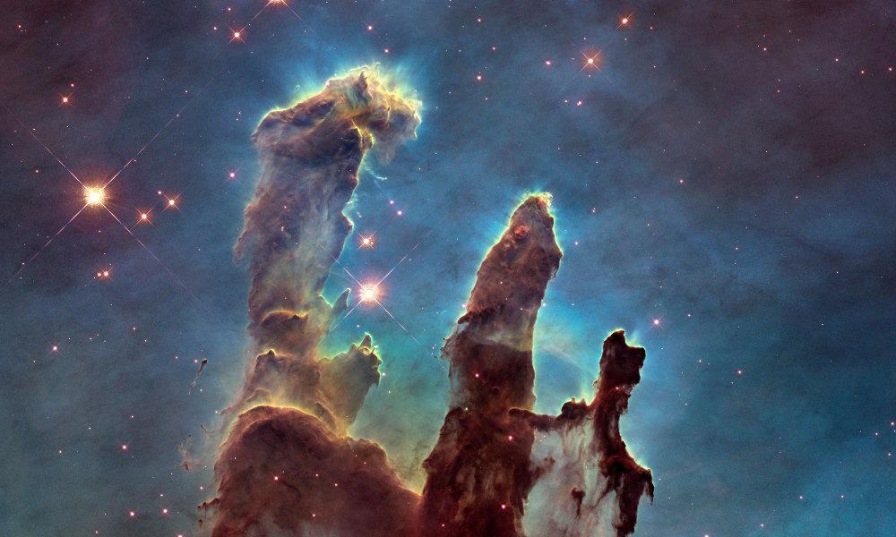 pilares creacion hubble espacio port