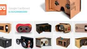 Google anima la realidad virtual de bajo coste: anuncia la certificación «Works with Cardboard»
