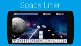 Space Liner, dirige al robot hasta la meta con la punta de tus dedos