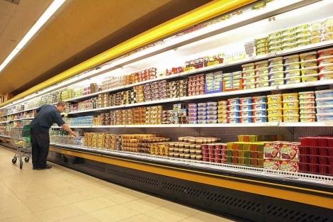 supermercado nevera