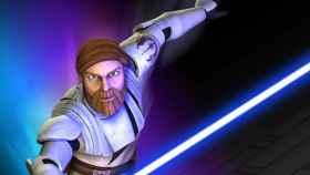 Obi Wan Kenobi en 'Las guerras clon'