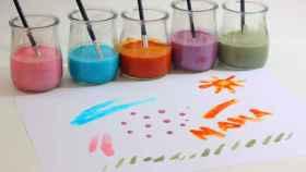 pinturas para niños caseras