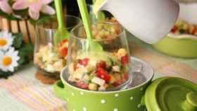 Gazpacho de manzana verde