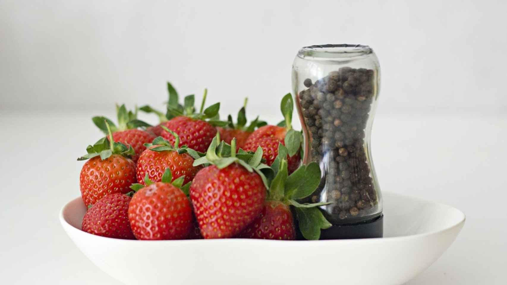 Trucos para potenciar el sabor de las fresas