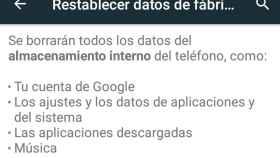 Restablecer los datos de fábrica en Android no elimina todos los datos