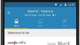 GoEuro, horarios y compras de billetes de avión, bus y tren en un sola aplicación