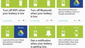 IFTTT más útil que nunca: botones flotantes y nuevo canal de batería