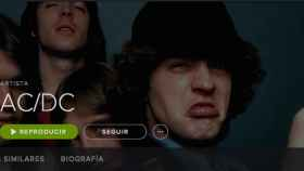 For those about to rock… AC/DC ya disponible en Spotify y en Google Play Music