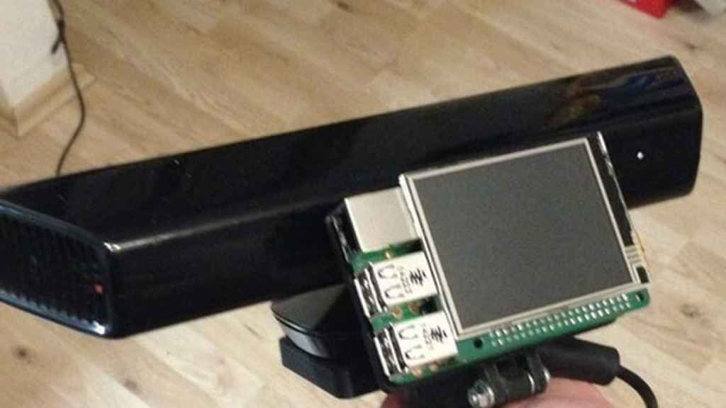 escaner 3d kinect raspberry 1