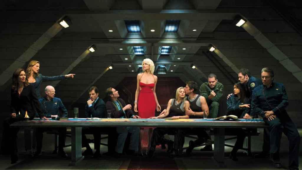 Imagen de la 'Battlestar Galactica' de 2004.