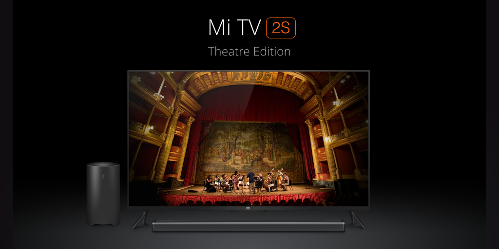 audio mi tv 2s xiaomi
