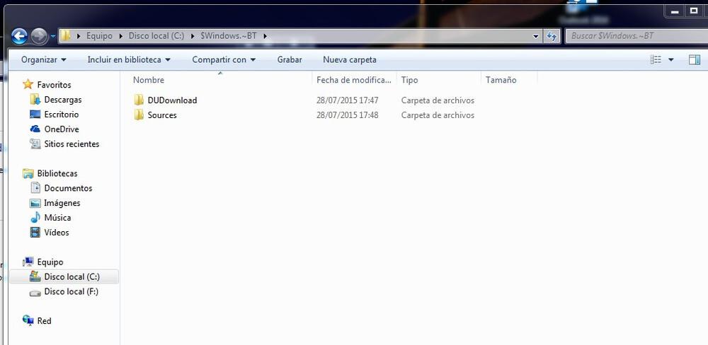 windows 10 precarga