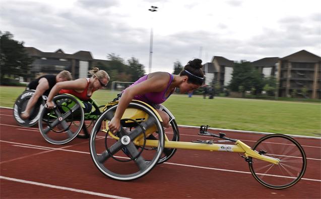 sillas paralimpicos