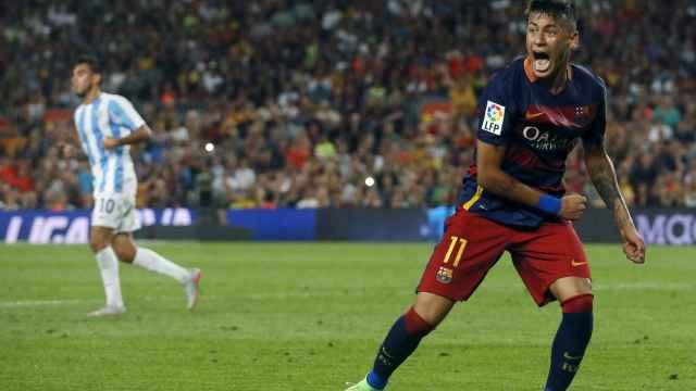 El jugador brasileño, durante un partido.