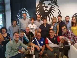 Los suscriptores de EL ESPAÑOL durante el Real Madrid-Málaga.