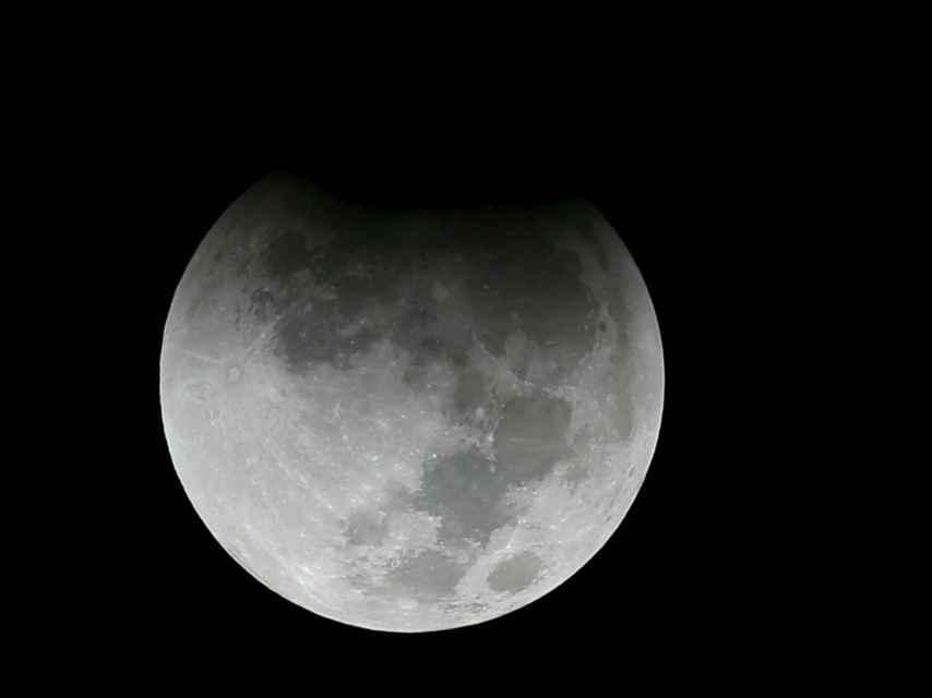 También ha podido contemplarse el eclipse de la luna llena desde El Cairo.