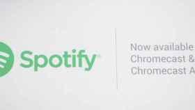 Spotify añade soporte para Chromecast