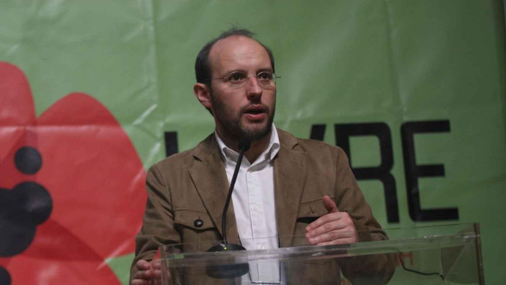 Rui Tavares, de la coalición Livre/Tempo de Avançar.
