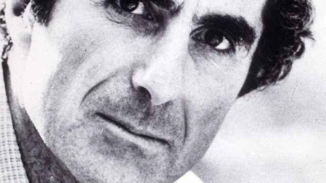 Philip Roth, en 1987