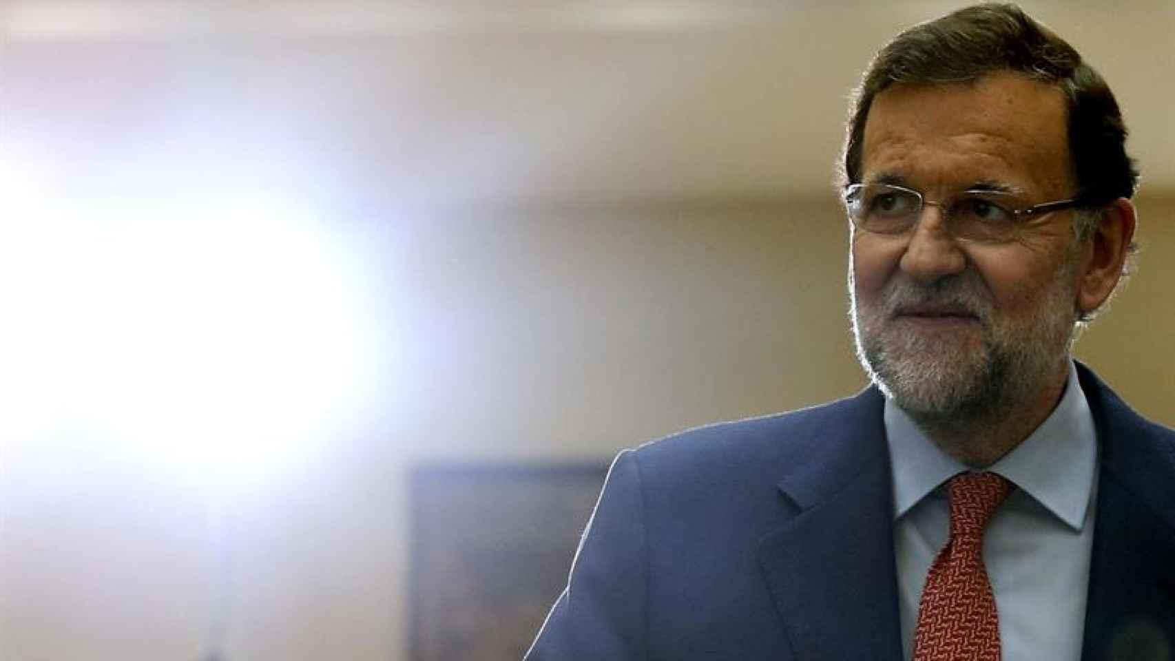 Mariano Rajoy, el jueves en La Moncloa