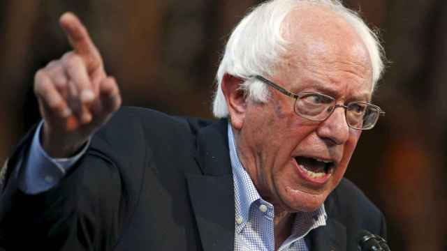 El candidato a las primarias demócrata Bernie Sanders.
