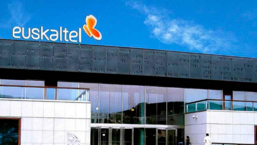 La sede de Euskaltel en una imagen de archivo.