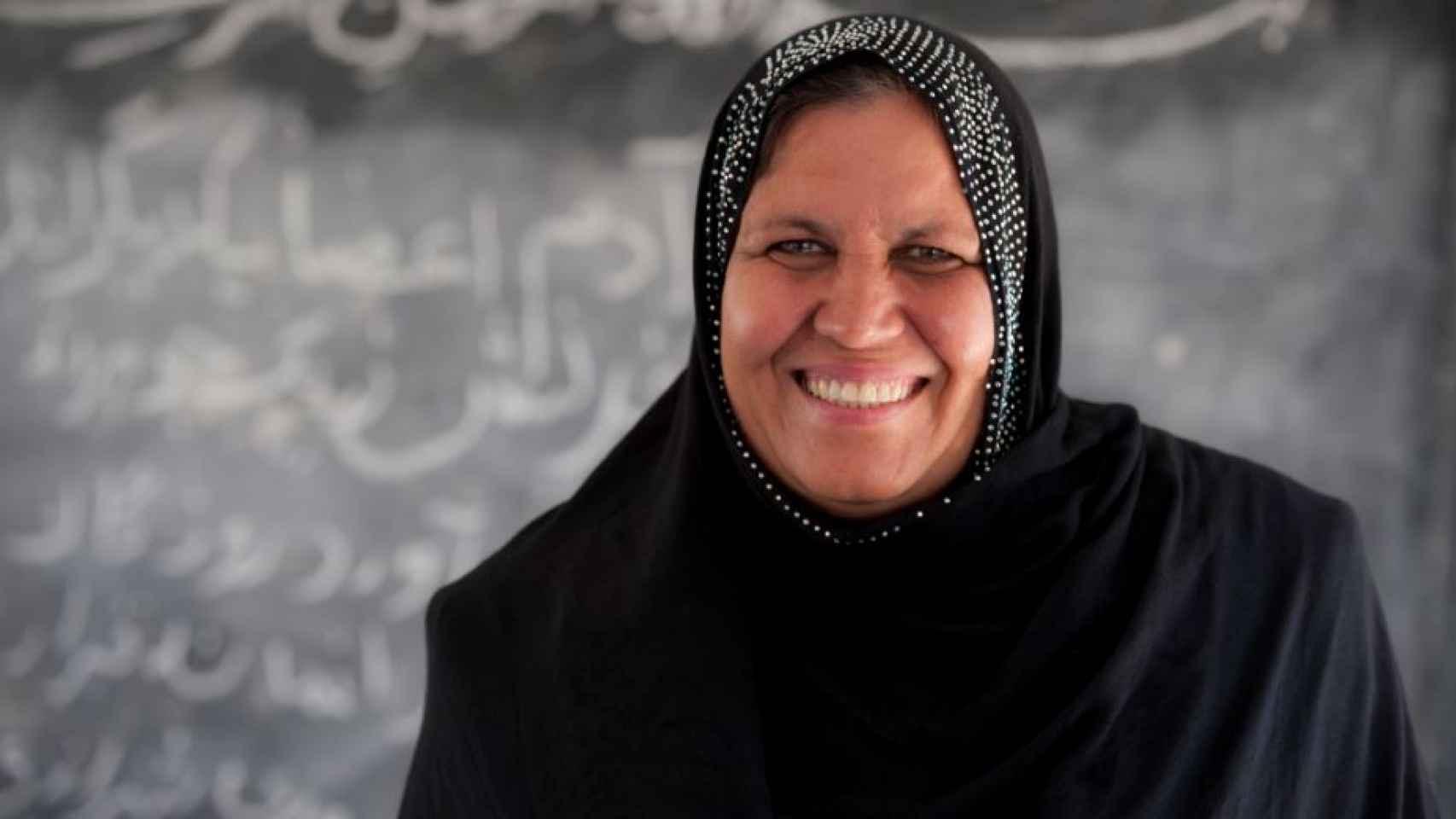 Asifi ha ayudado a 1.000 niñas a llegar hasta el último curso de la escuela.
