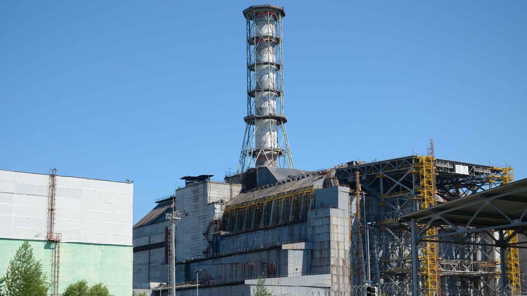 Imagen de la planta nuclear de Chernóbil en 2011.