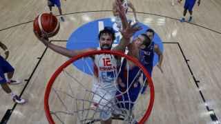 Sergio Llull, durante el pasado Eurobasket.