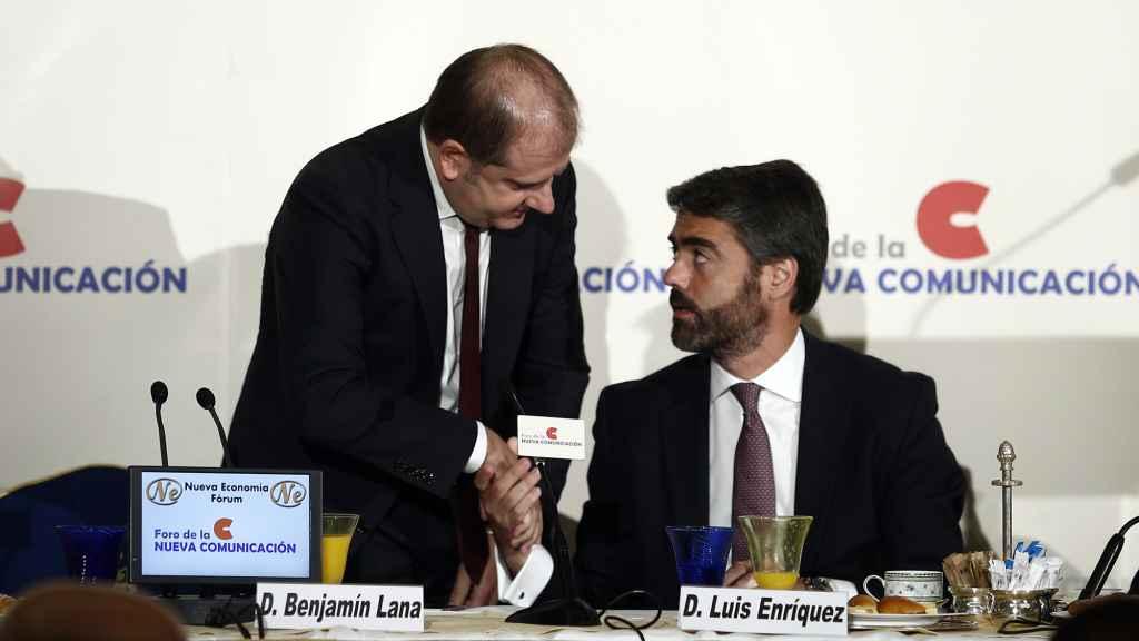 Luis Enríquez, consejero delegado de Vocento en una imagen de archivo.