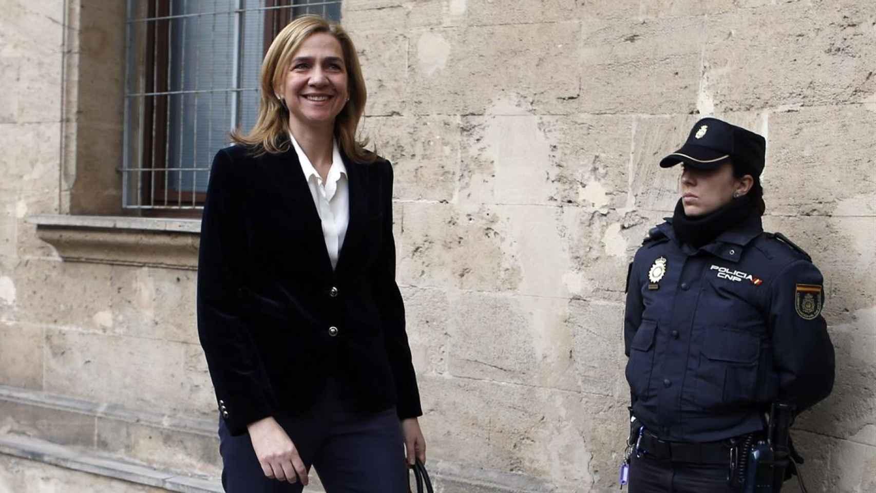 La infanta Cristina en los juzgados de Palma / Paul Hanna / Reuters