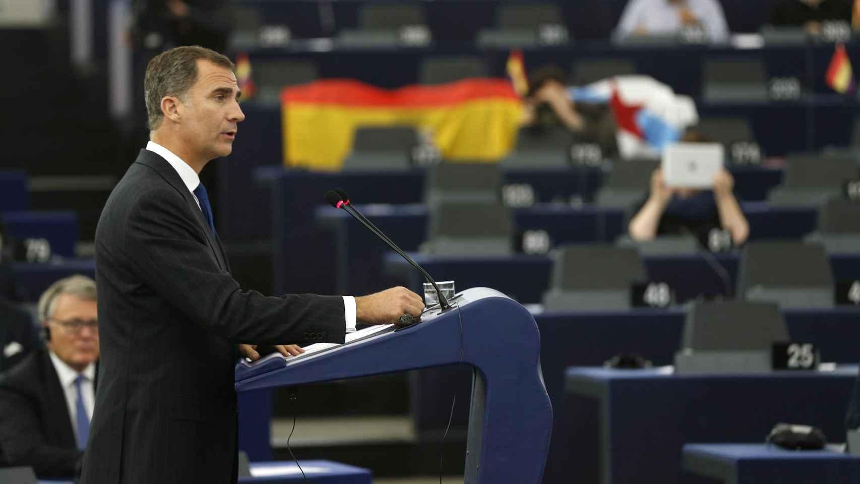 El Rey lleva a Europa la defensa de la Constitución y de la unidad de España