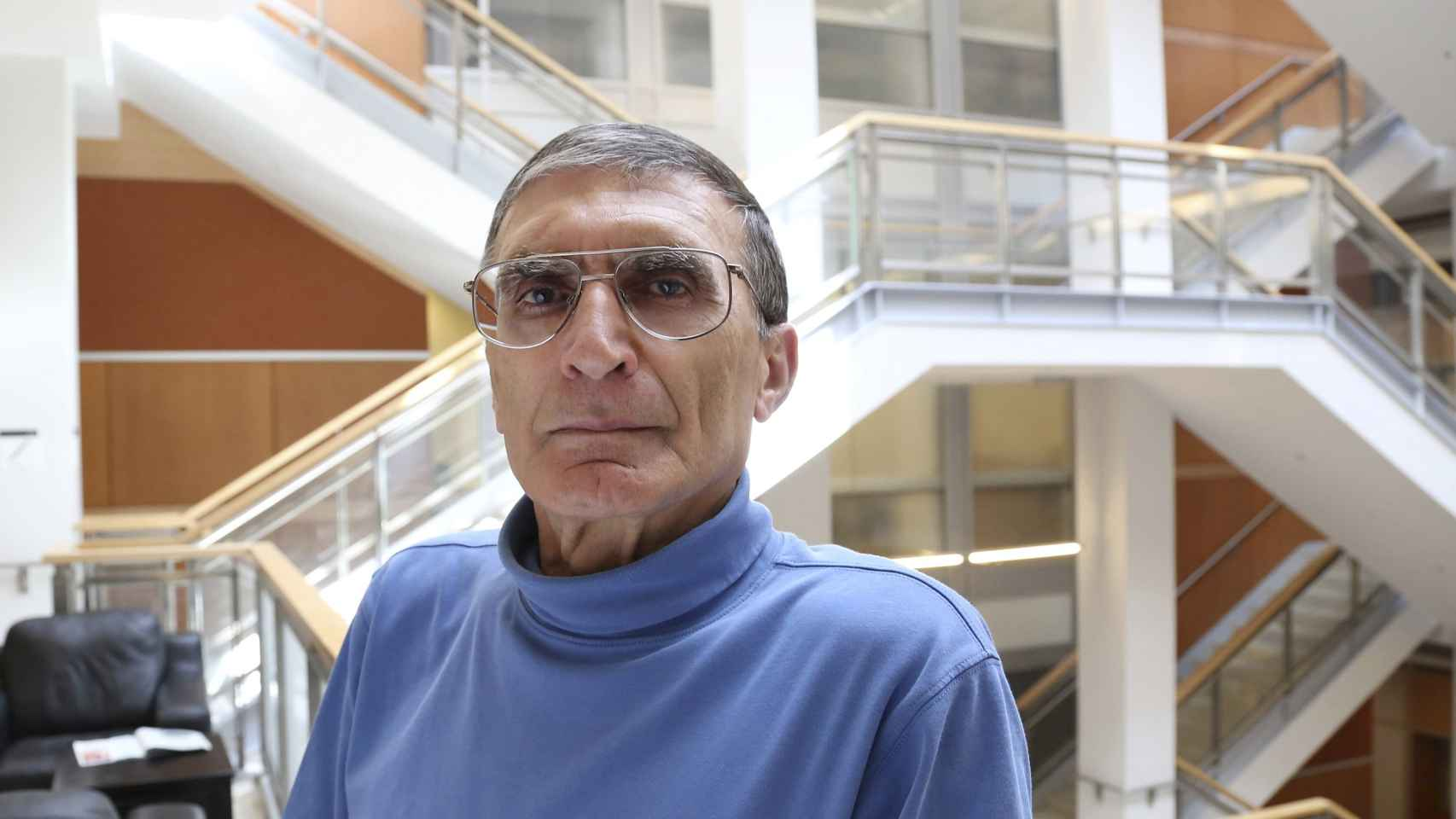Aziz Sancar, en la Universidad de North Carolina