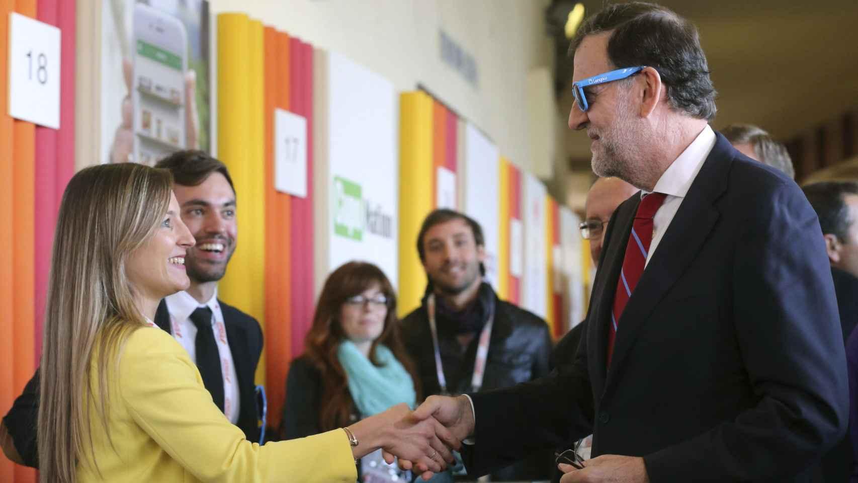 Mariano Rajoy durante la inauguración de South Summit.