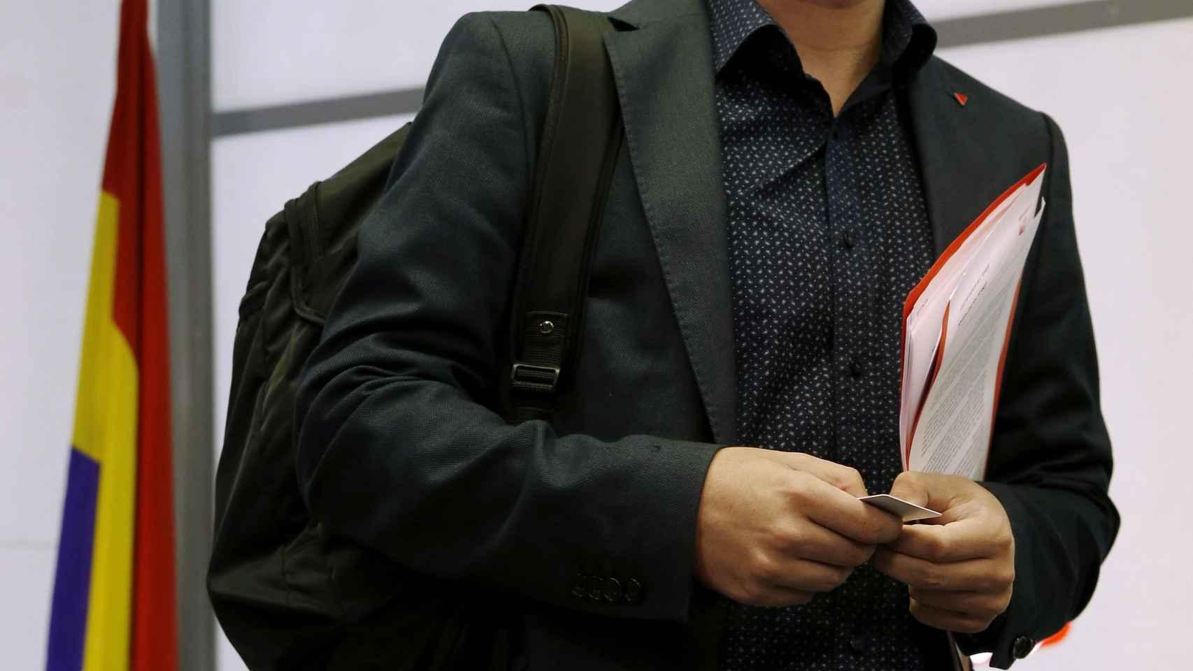 El candidato de IU a la presidencia del Gobierno, Alberto Garzón.